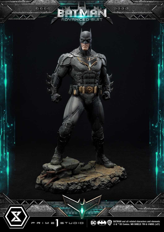 PRÉ VENDA: Estátua Batman Advanced Suit: Dc Comics  - Statue Prime 1 Studio