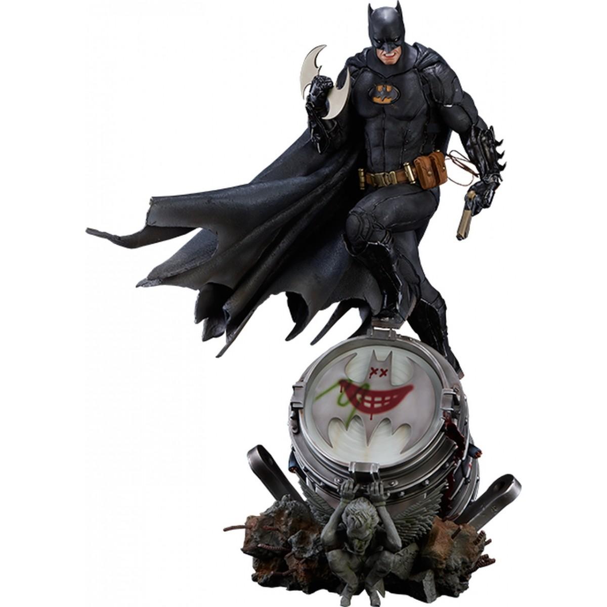 PRÉ VENDA: Estátua Batman (Black Edition): DC Comics Prime Scale (by Ivan Reis) Escala 1/3 - Iron Studios