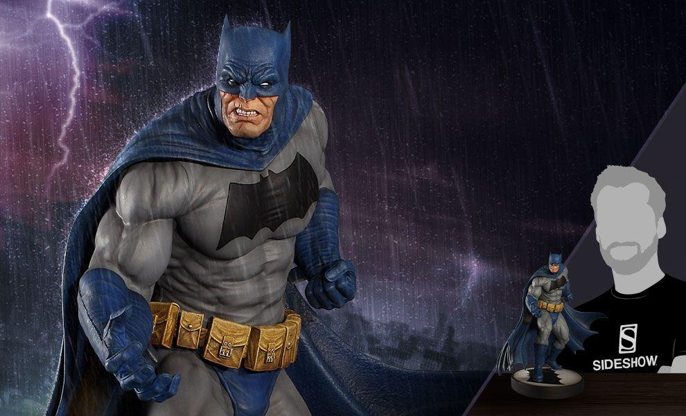PRÉ VENDA: Estátua Batman: O Cavaleiro das Trevas (Dark Knight) - Maquette by Tweeterhead (DC Comics) - Sideshow Collectibles