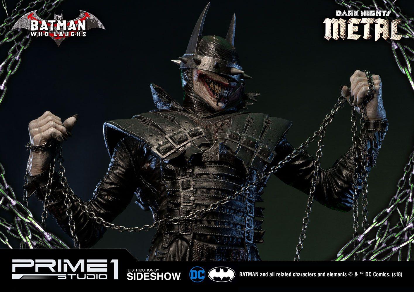 PRÉ VENDA: Estátua Batman Que Ri (Who Laughs): Noites de Trevas: Metal (Dark Nights: Metal) DC Comics - Prime 1 Studio