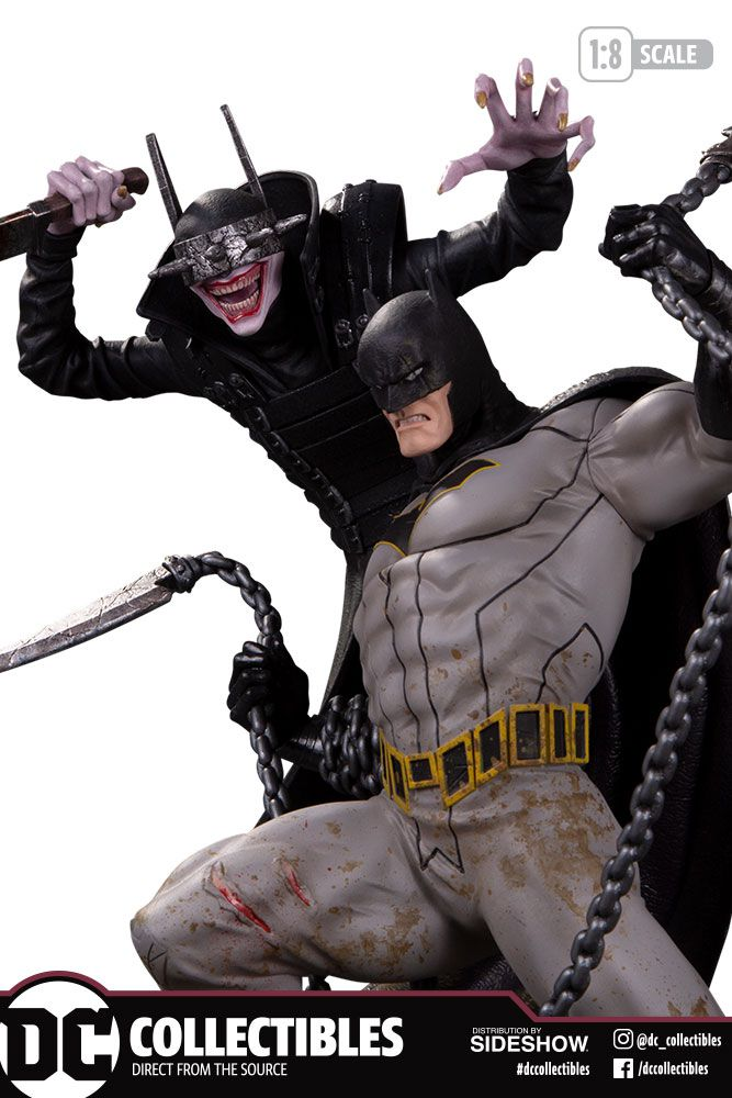 PRÉ VENDA: Estátua Batman vs Batman Que Ri: Batman O Homem Que Ri (The Man Who Laughs) DC Designer Series (DC Comics) - DC Collectibles