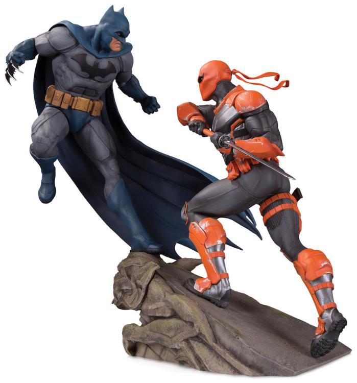 Estátua Batman vs. Deathstroke: DC Comics (Limited Edition) (Battle Statue) - DC Collectibles (Apenas Venda Online)