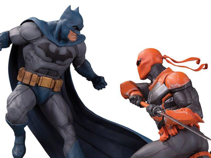 PRÉ-VENDA Estátua Batman vs. Deathstroke: DC Comics (Limited Edition) (Battle Statue) - DC Collectibles