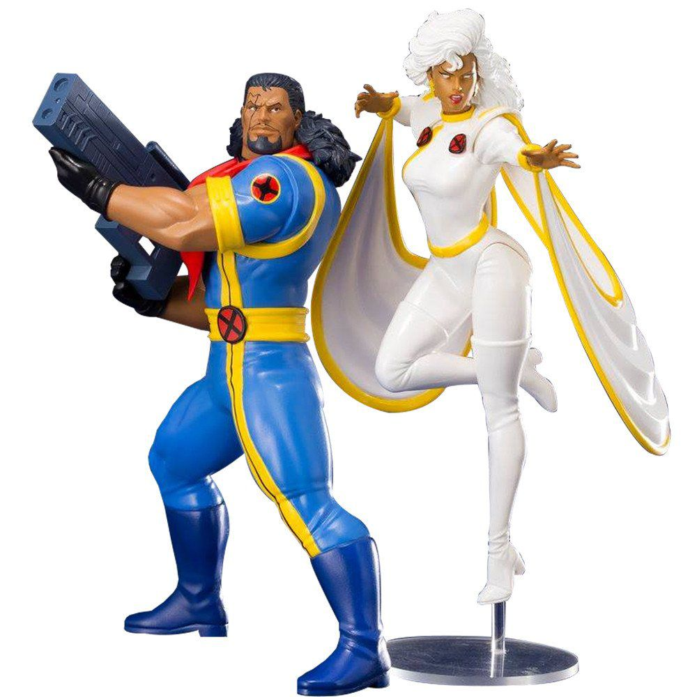 PRÉ VENDA: Estátua: Bishop & Storm 2-Pack: X-Men 92: 1/10 - Kotobukiya
