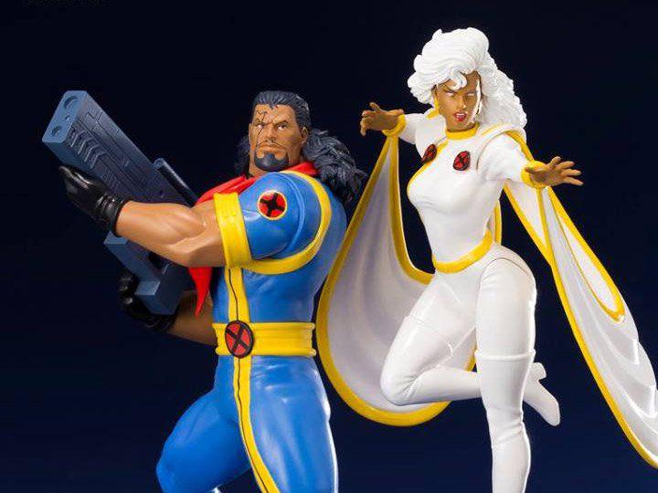 PRÉ VENDA: Estátua: Bishop & Storm 2-Pack: X-Men 92: 1/10 - Kotobukiya