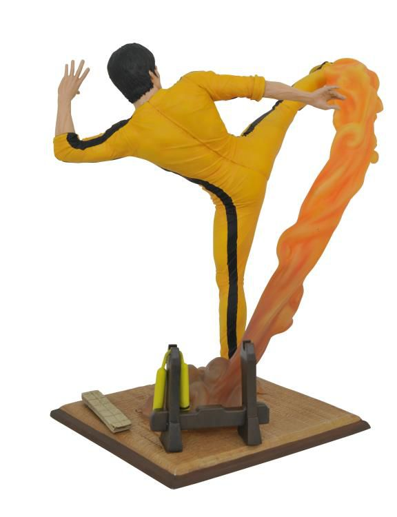 Estátua Bruce Lee (Kicking) - Diamond Select - (Apenas Venda Online)