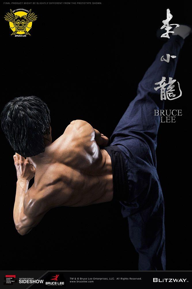 Estátua Bruce Lee (Tribute): Bruce Lee 80th Anniversary (Escala 1/4) - Blitzway