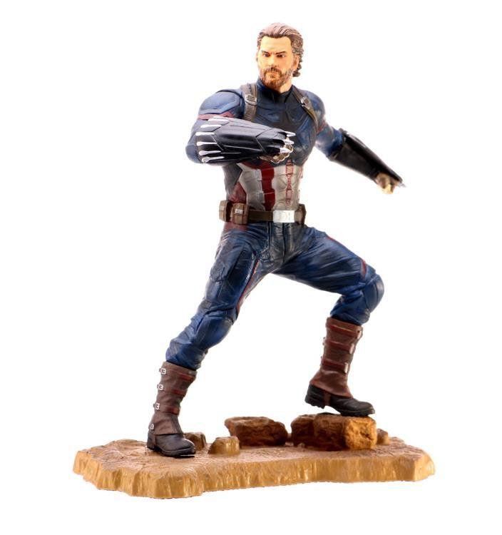 PRÉ VENDA: Estátua: Capitão America (Avengers 3 Infinity War) - Diamond Select Toys