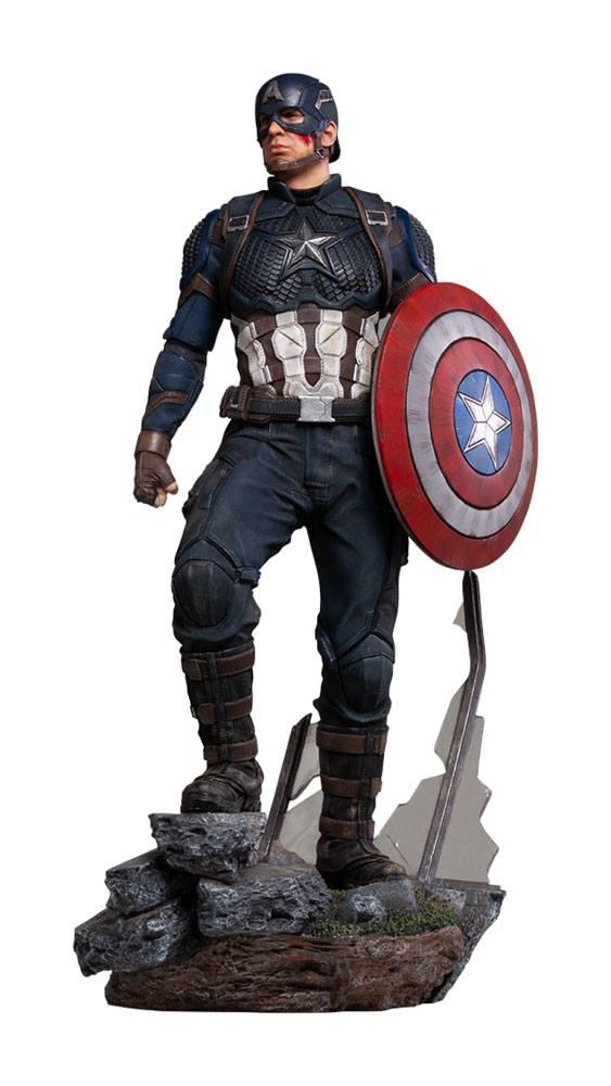 PRÉ VENDA Estátua Capitão América (Captain America): Vingadores: Ultimato (Avengers: Endgame) - Legacy Replica (Limited Edition) Escala 1/4 - Iron Studios