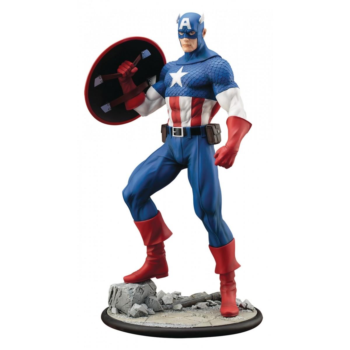 EM BREVE: Estátua Capitão América: Marvel Comics Modern Myth Artfx Statue Escala 1/6 - Kotobukiya
