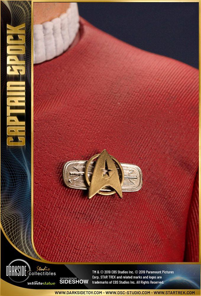 PRÉ-VENDA Estátua Capitão Spok (Leonard Nimoy as Captain Spock): Star Trek ll A Ira de Khan (Escala 1/3) - DarkSide Collectibles