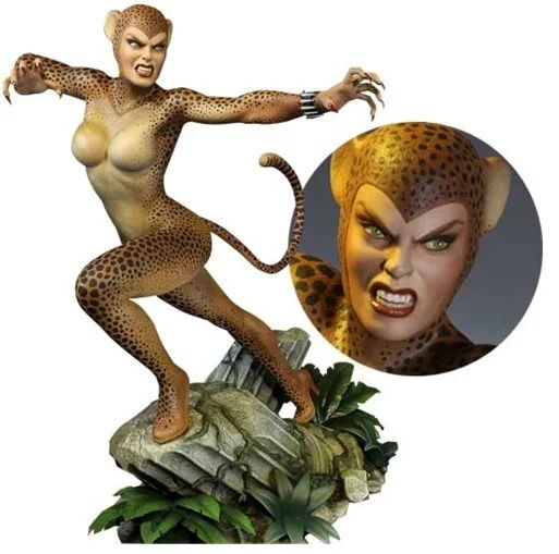 PRÉ VENDA: Estátua Cheetah: DC Comics Maquette (Super Powers Collection) - Tweeterhead