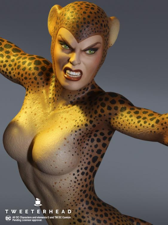 PRÉ VENDA: Estátua Cheetah: DC Comics Maquette (Super Powers Collection) - Tweeterhead
