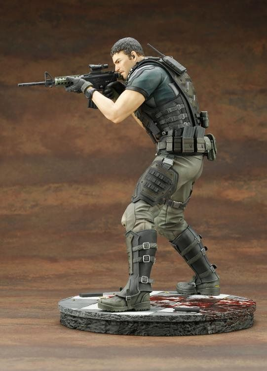 PRÉ VENDA: Estátua: Chris Redfield: Resident Evil Vendetta 1\6 - Kotobukiya
