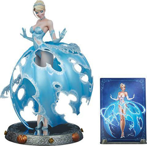 PRÉ VENDA: Estátua Cinderela: Disney (Fairytale Fantasies) - Sideshow Collectibles