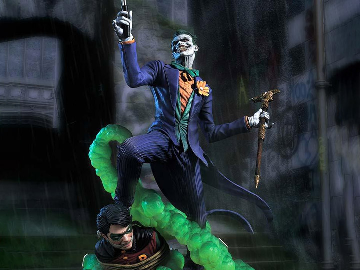 PRÉ VENDA: Estátua Colecionável Coringa The Joker (Say Cheese): Batman DC Comics Museum Masterline Escala 1/3 - Prime 1