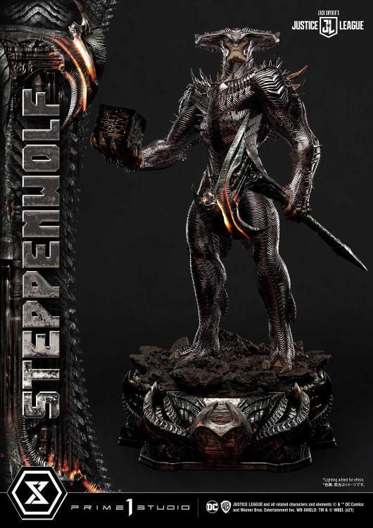 PRÉ VENDA: Estátua Colecionável Lobo da Estepe Steppenwolf Deluxe: Zack Snyder's Liga da Justiça Justice League Masterline Limited Edition Escala 1/3 - DC Comics Prime 1 Studio