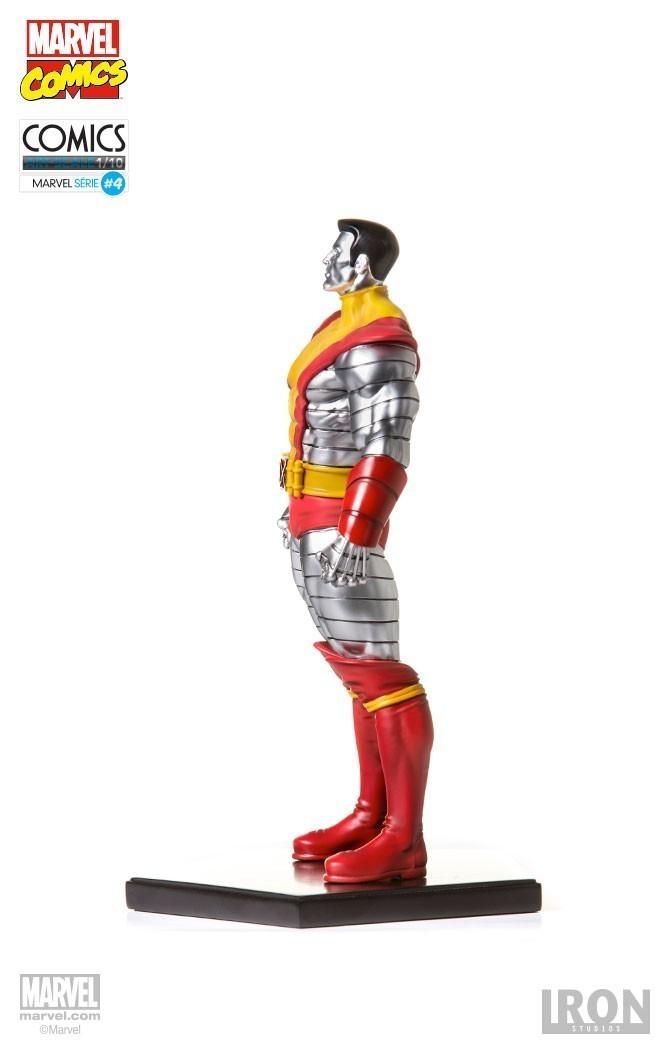 Estátua Colossus: Marvel Comics Série 4 Art Scale Escala 1/10 - Iron Studios - CD
