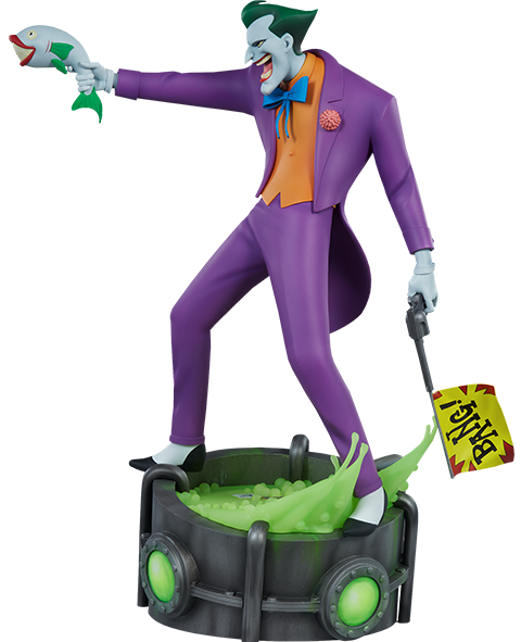 PRÉ-VENDA Estátua Coringa (Joker): Batman The Animated Series - Sideshow