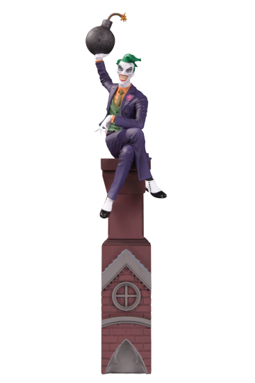 PRÉ VENDA: Estátua Coringa (Joker) Multi-Part Statue (Batman Rogues Gallery) DC Comics - DC Collectibles