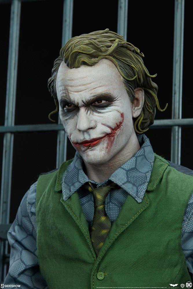 Estátua Coringa (The Joker): Batman O Cavaleiro das Trevas (The Dark Knight) DC Comics (Premium Format) - Sideshow Collectibles