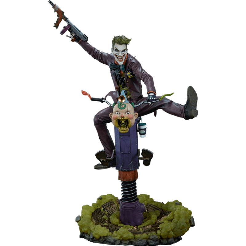 PRÉ VENDA: Estátua Coringa (The Joker): DC Comics Premium Format - Sideshow Collectibles