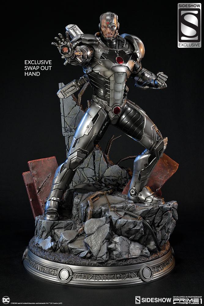 PRÉ VENDA: Estátua Cyborg: Liga da Justiça Novos 52 (Justice League New 52) - Sideshow