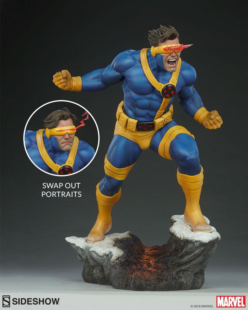 Pré Venda: Estátua: Cyclops Premium Format Collectibles: Marvel (Edição Limitada) - Sideshow