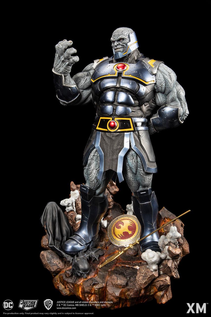 PRÉ VENDA: Estátua Darkseid Rebirth Renascimento DC Comics Escala 1/6 - XM Studios