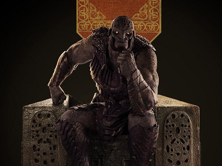 PRÉ VENDA: Estátua Darkside Liga da Justiça de Zack Snyder Zack Snyder's Justice League Escala 1/4 Limited Edition DC Comics - WETA