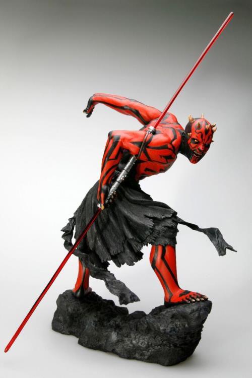 PRÉ VENDA: Estátua Darth Maul (Japanese Ukiyo-e Style): Star Wars (ArtFX+) - Kotobukiya