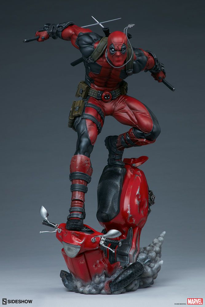 PRÉ VENDA Estátua Deadpool: Marvel (Premium Format) - Sideshow Collectibles