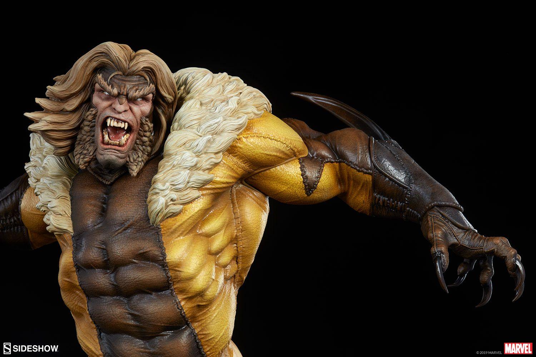 PRÉ VENDA: Estátua Dentes-de-Sabre (Sabretooth): X-Men Collection (Premium Format) - Sideshow