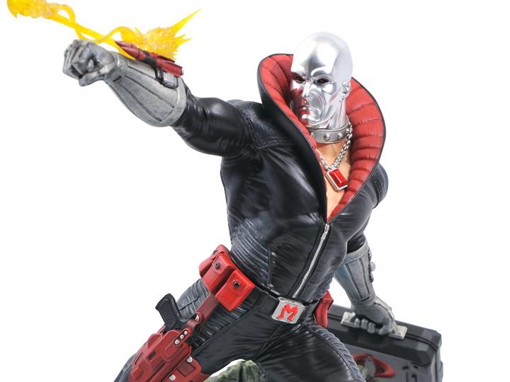 PRÉ VENDA: Estatua Diorama: Destro G.I Joe - Diamond Select Toys