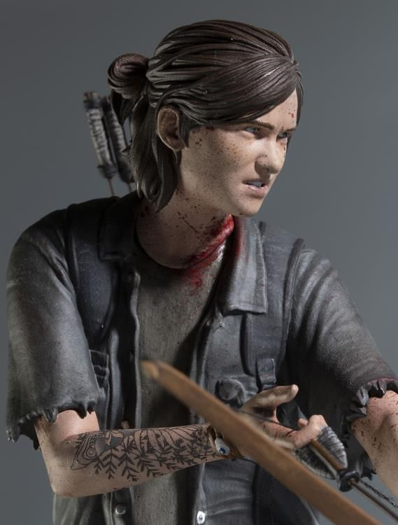 Estátua Ellie com Arco (with Bow): The Last of Us Part II - Dark Horse