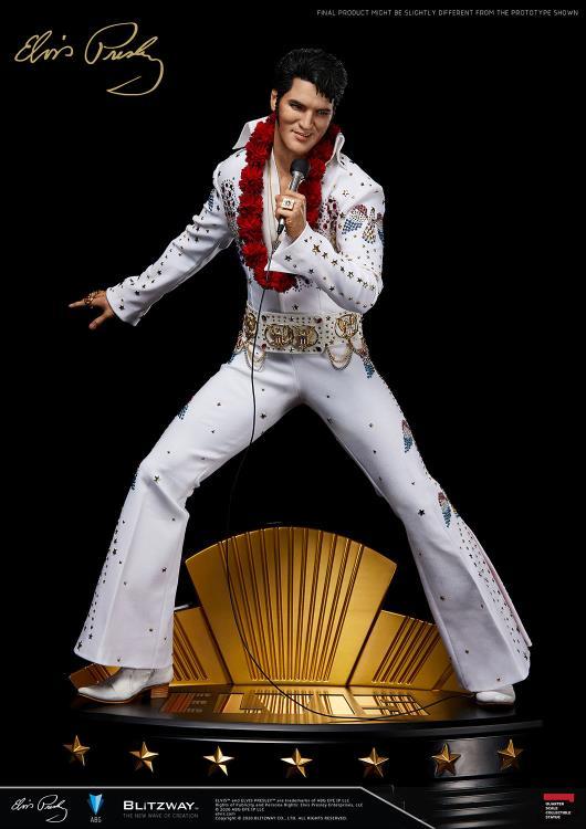 PRÉ-VENDA: Estátua Elvis Presley - Superb  (Escala 1/4)