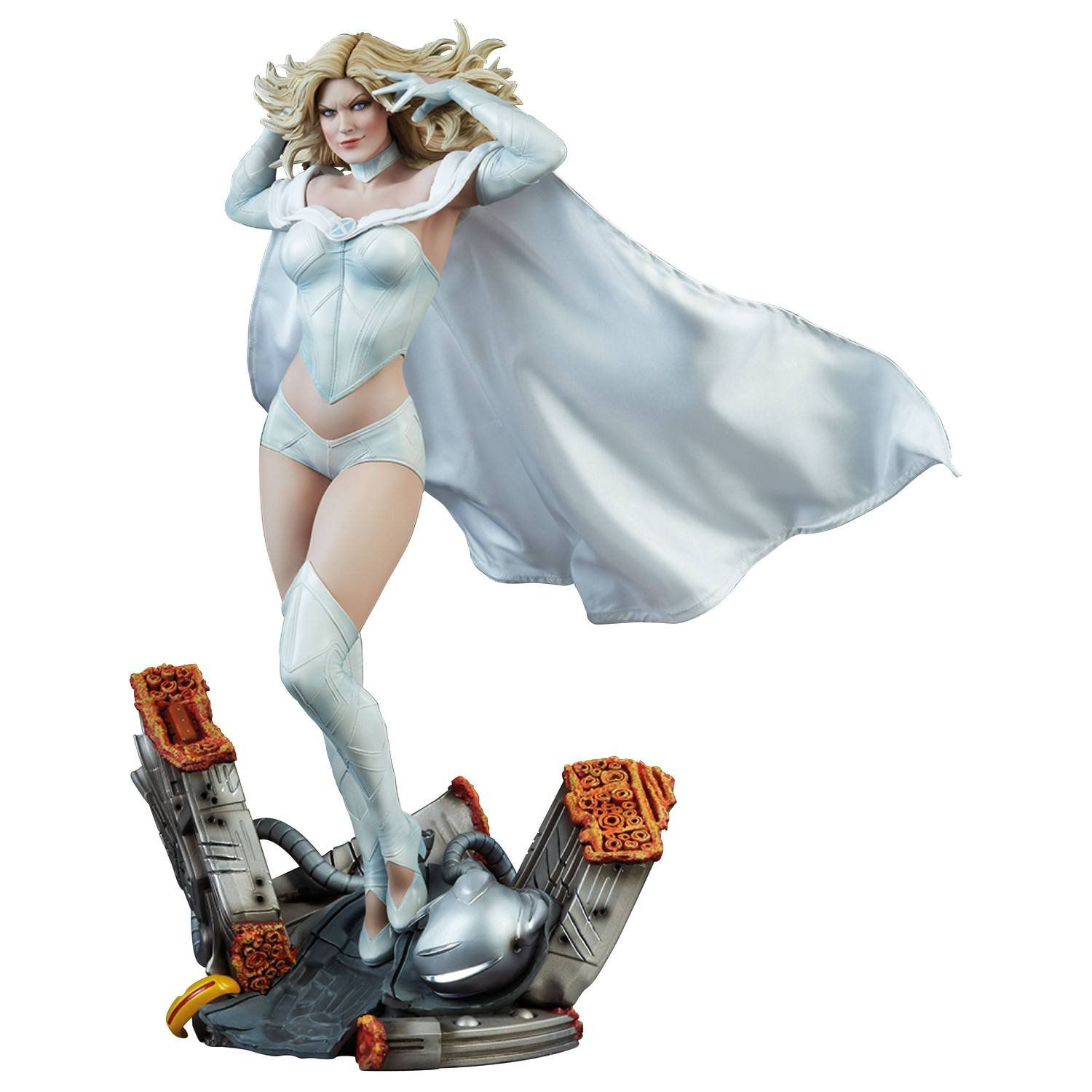 PRÉ VENDA: Estátua Emma Frost: X-Men (Marvel Collection Premium Format) - Sideshow