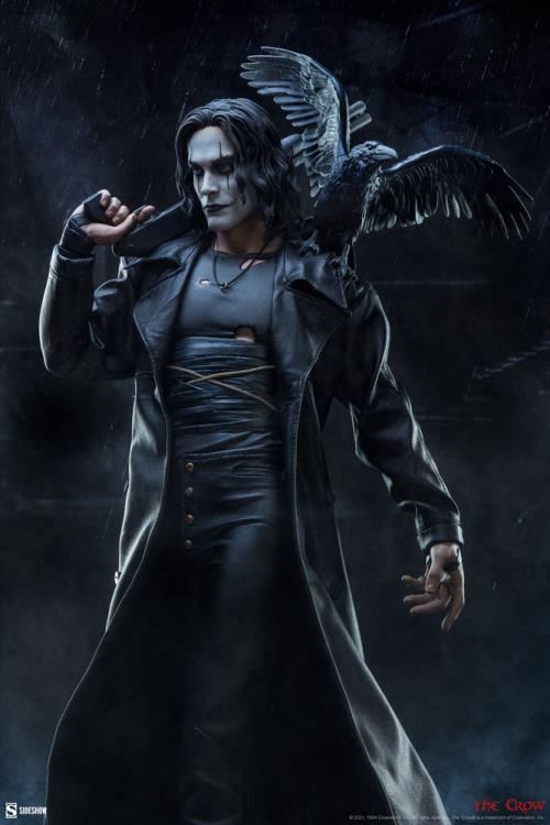 PRÉ VENDA: Estátua Eric Draven The Crow O Corvo Premium Format - Sideshow Collectibles