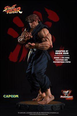 PRÉ VENDA: Estátua Evil Ryu: Street Fighter (Escala 1/4) - Prototypez Studio