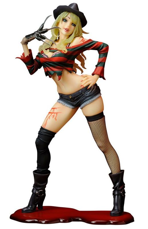 PRÉ VENDA Estátua Freddy Krueger: Freddy Vs Jason (Bishoujo Statues) 2ª Edição - Escala 1/7 - Kotobukiya