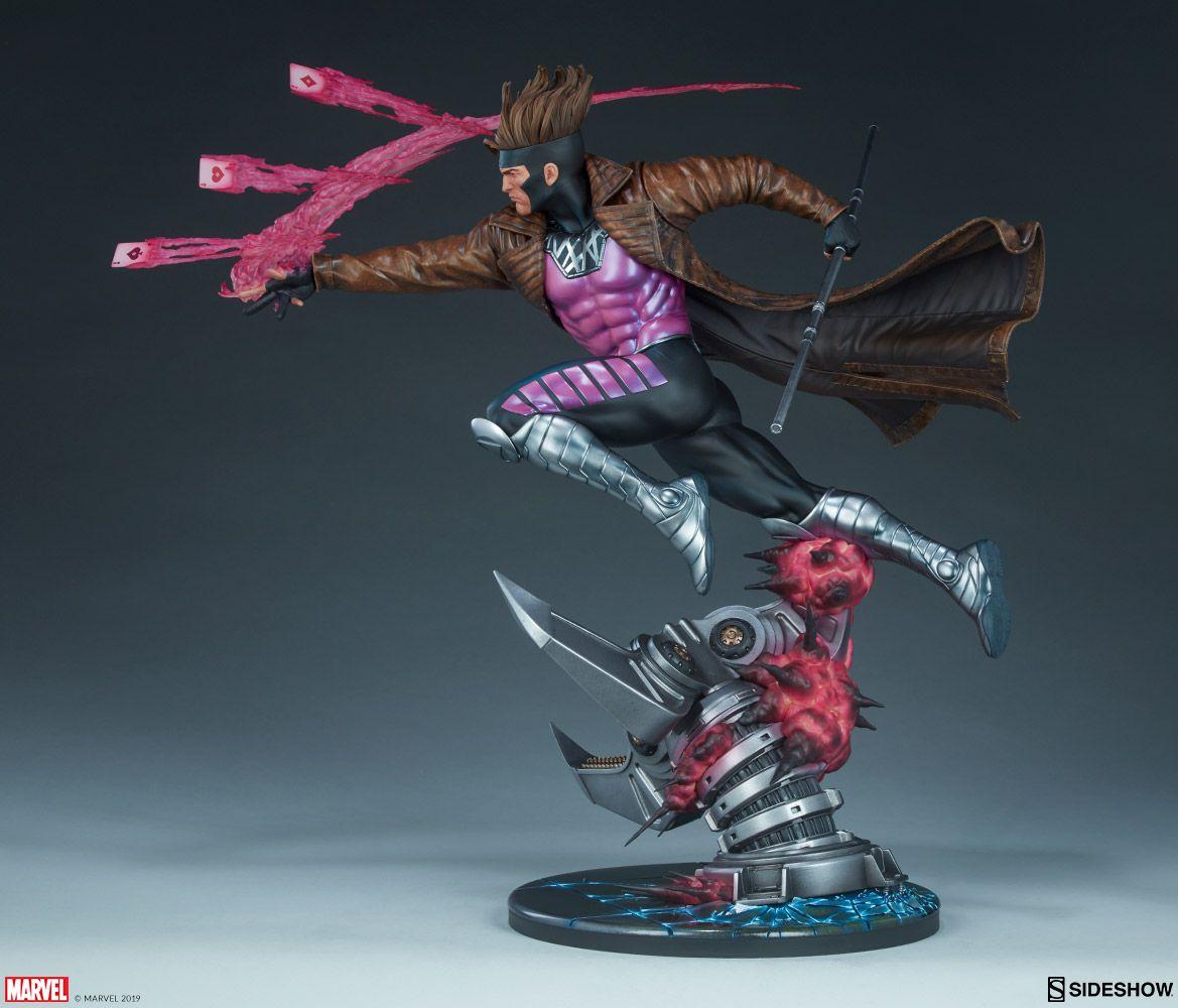 Estátua Gambit: X-Men Collection (Marvel) Maquette - Sideshow