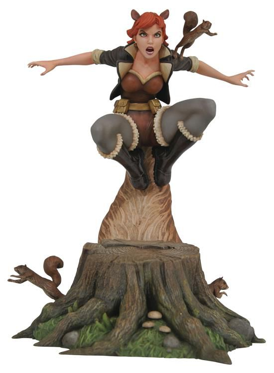 PRÉ VENDA: Estátua Garota Esquilo (Squirrel Girl): Marvel Gallery - Diamond Select