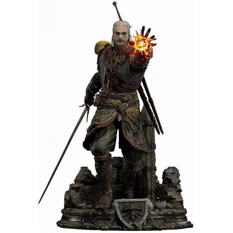 PRÉ VENDA: Estátua Geralt de Rivia (Skellige Undvik Armor): The Witcher 3 Wild Hunt (Escala 1/4) - Prime 1 Studio