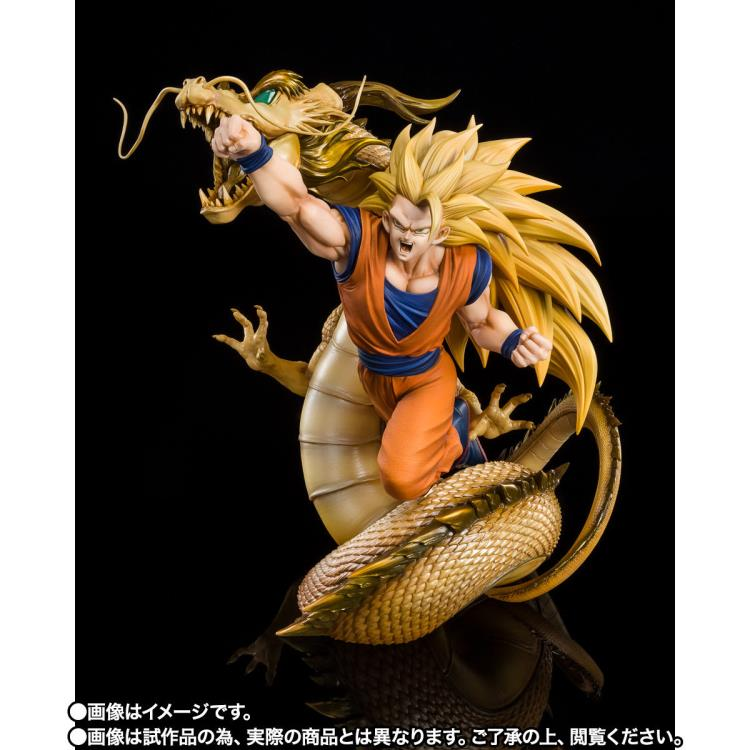 PRÉ VENDA: Estátua Goku Super Saiyan 3 Wrath of the Dragon FiguartsZERO: Dragon Ball Z - Bandai Spirits - EV
