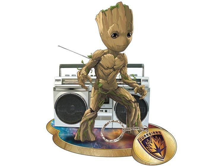 PRÉ VENDA: Estátua Groot: Guardiões da Galáxia Vol. 2 Finders Keypers - Elephant Gun