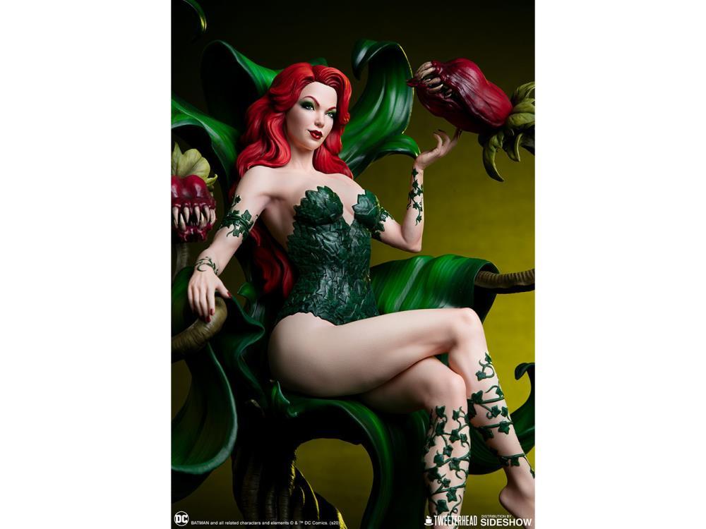 PRÉ VENDA: Estátua Hera Venenosa (Poison Ivy): DC Comics (Exclusive Maquette) - Tweeterhead