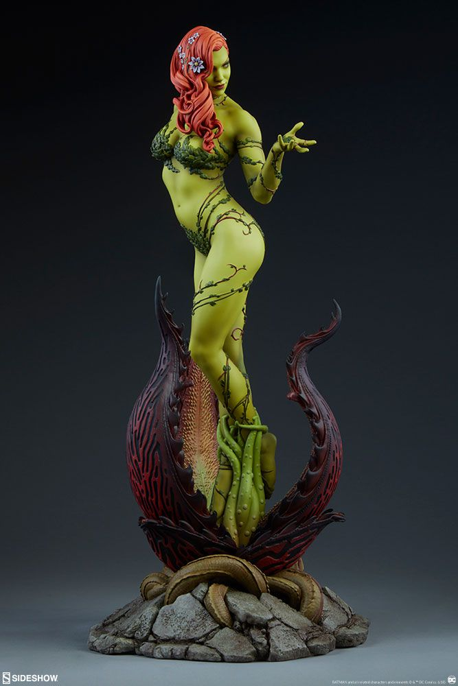 PRÉ VENDA: Estátua Hera Venenosa (Poison Ivy): DC Comics Premium Format - Sideshow Collectibles