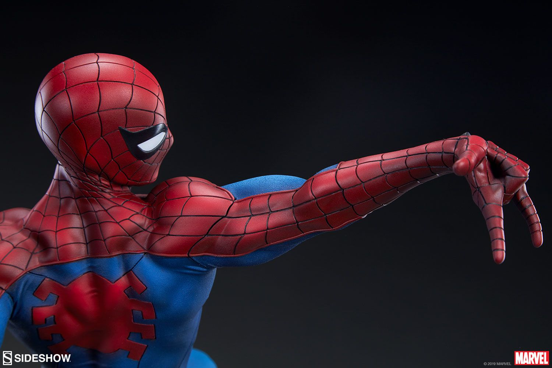 Estátua Homem-Aranha (Spider-Man): Marvel Collection (Premium Format) - Sideshow (Sem Caixa)