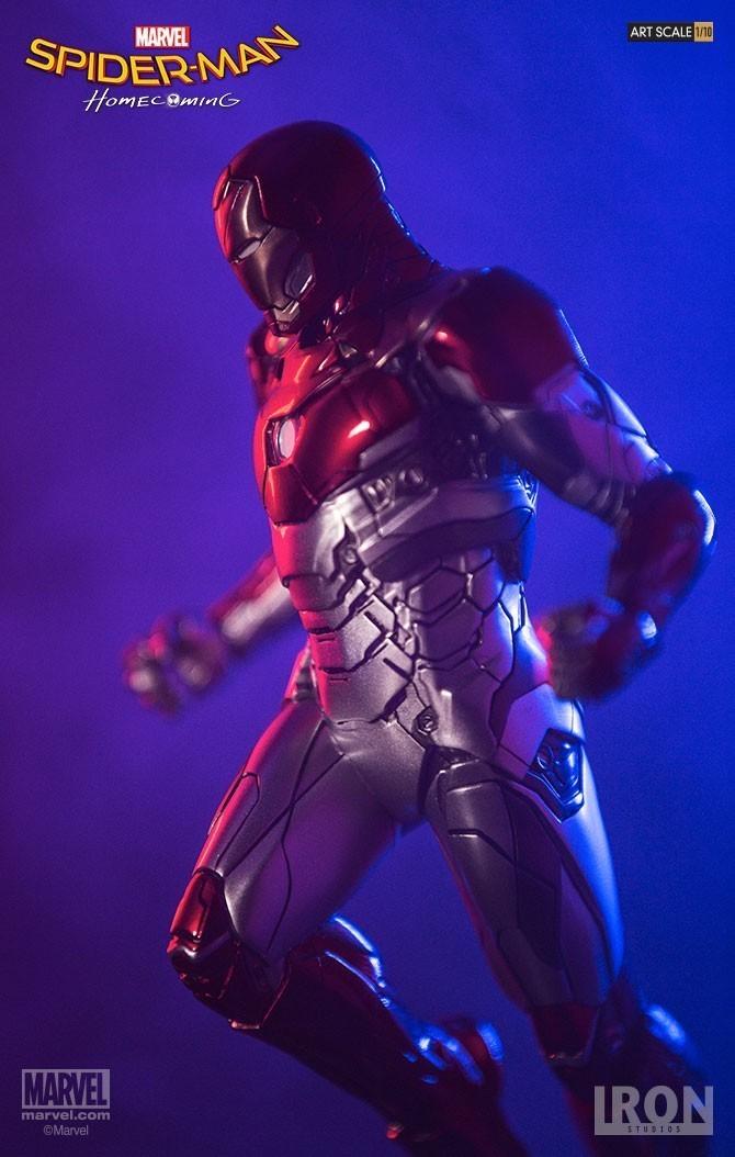 Estátua Homem de Ferro (Iron Man) Mark XLVII: Homem-Aranha De Volta ao Lar (Spider-Man Homecoming) Battle Diorama Series (BDS) Art Scale Escala 1/10 - Iron Studios