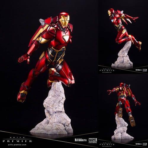 Estátua Homem de Ferro (Iron Man): Marvel Comics (ArtFX Premier) 1/10 - Kotobukiya